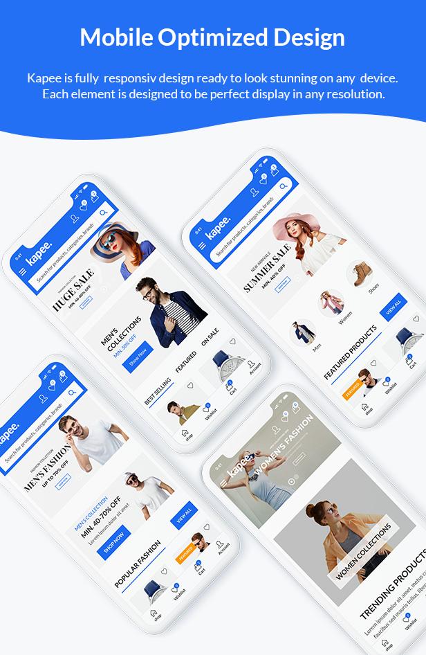 Kapee - Fashion Store WooCommerce Theme 3