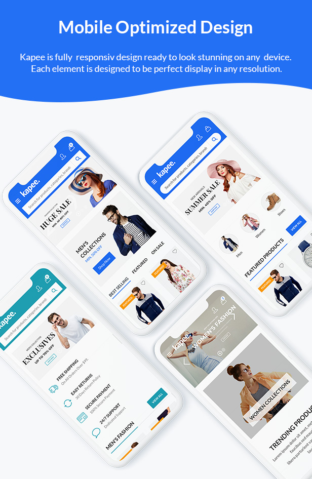 Kapee - Fashion Store WooCommerce Theme 3